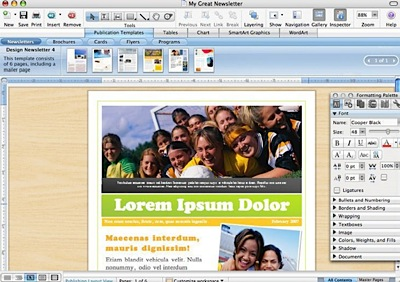 Microsoft Office 2008 Word preview