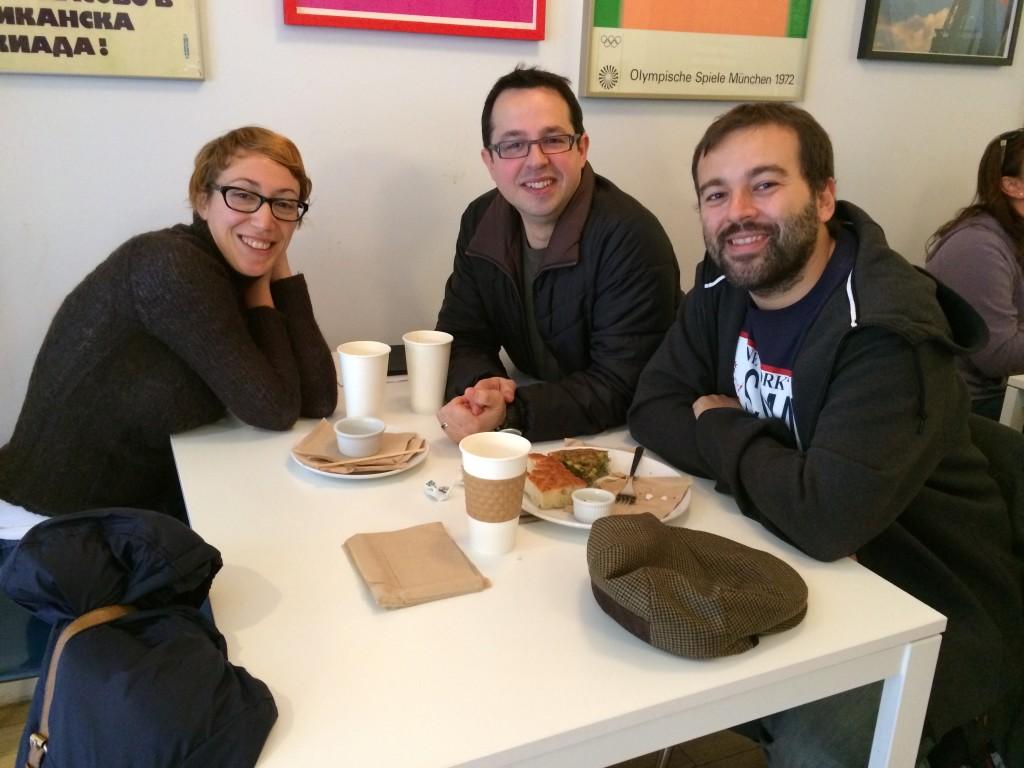 Carolina, Fede y Raúl